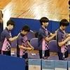 始まるっ!一回戦、女子学校対抗戦。卓球インターハイ鹿児島