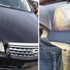 ダッシュボードのひび割れとドア内張の破れキズ修理 (日産Y50フーガ)