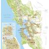 近頃流行なもの・・・The Unscientific Bay Area Map・ベイエリアのパロディー地図