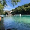 ジュネーブの醍醐味:ローヌ川で泳ぐ
