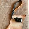 【ハンドメイド】デジカメのケースを革で作ってみました。