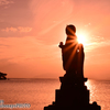 神々しい夕景に感動。日本の夕陽百選 松江ゆうぐれフォト