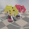 【Unity】なわとびの縄のシミュレーション