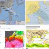 【台風情報】『大型』の台風11号『バイルー』は23日09時現在で中心気圧は990hPa・最大風速は25m/s・最大瞬間風速は35m/s!今週末にも沖縄の先島諸島に接近する可能性が!気象庁・米軍・ECMWFの進路予想は?