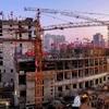 基礎工事終え建設進む平壌総合病院、「朝鮮の今日」が写真で紹介