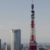 【写真複製・写真修復の専門店】東京タワーの風景 快晴に