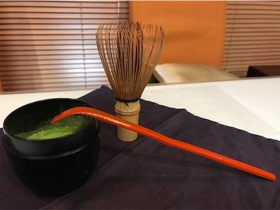 夕食後のお抹茶〜いい香り〜