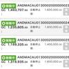 7月4日〜7月6日 +24,715円 バカラオートシステム収益