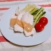 【料理】夏にさっぱり!棒棒鶏!【バンバンジー】