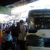 ラオスの首都ビエンチャンからタイのウドンターニまで国際バスでの移動