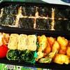 【男子中学生弁当】チキン&ピーマンのピカタと海苔ご飯