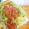 【沖縄】キングタコス長田店でタコライスチーズ野菜!駐車場は離れた場所にあり