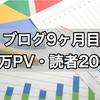【野球ブログ9ヶ月目】読者登録200人、月間10万PVありがとうございます!
