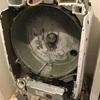 4年使ったドラム式洗濯乾燥機を分解洗浄しました。
