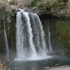 白糸の滝の直ぐそばにある音止めの滝(静岡県、富士宮市)