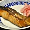 豊洲の「米花」でたけのことアスパラの炒め、やりいか煮、桜ますの西京焼き、牡蠣と小松菜、かき玉汁。