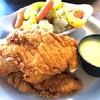 ランチのステーキが格安! チキン・テンダーは衣もサクサク、鶏肉もふっくらでお勧め。