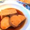ブリと豆腐の煮付け