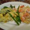 Prawn & Shrimp on Pasta