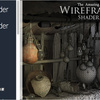 Wireframe shader - The Amazing Wireframe shader ワイヤーフレームを表示するシェーダー  / 一部機能に大興奮♪
