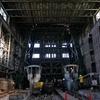旧住友赤平炭鉱の内部はこんな感じだった。