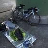 中の人と旅の目的、自転車と装備品紹介