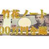 竹花ノート、クラウドファンディングの100万円の支援を断る