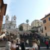イタリア:ローマ スパーニャ広場/スペイン広場
