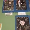4年生:図工 木版画作品掲示