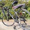 自転車釣行用ロッドホルダー