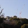 お正月に熊本城に行った