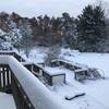 大雪開始!冬の到来!