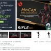 【MADNESS SALE】「RIFLE PRO: MoCap Animation Pack」ライフル銃を装備した兵士のモーションキャプチャデータ528種類!無料体験版をダウンロードしてユニティちゃんで試してみた(日替わりセール 本日15:59終了)Vol.6