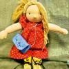 【コロナと私⑦】我が子の誕生日に、手作りのウォルドルフ人形を・5(女の子お洋服編)
