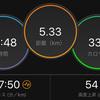 ジョギング5.33km・サンタさんのリハビリラン&ウォーク