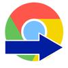 Google Chromeで見ているページを他のブラウザで開く便利なアプリ
