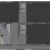 Blender標準テクニック[ローポリキャラクター制作で学ぶ3DCG]を試す その2(ミラーモディファイア)