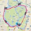 【皇居】15kmペース走のマイルストーン