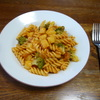 ジャガイモのパスタ①トマトソース