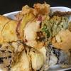 天ぷら、味噌汁