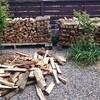 薪ストーブ原生代46 樫の薪棚ver2.0~ゴールデンウィークの楽しい労働
