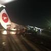 ビーマン・バングラディシュ機がヤンゴン空港で着陸失敗