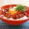 甘辛豚キムチ丼レシピ