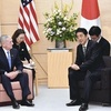 米国防長官「尖閣に安保適用」明言…首相と会談