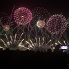 NARITA 花火大会 in 印旛沼に行ってきました。延期からの開催でした