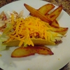 Yoshi Cafe - Midnight Snack; Taco and Fried Potatoes