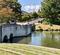 小布施ハイウェイオアシスの池(長野県小布施)