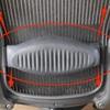 ランバーサポートの使い方とアーロンチェアのサイズ確認方法。