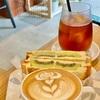 【astrea coffee  】アストレアコーヒー🇦🇺☕️京都人気のコーヒースタンド✨オススメはフルーツプレスサンド✨🍓🥪🥝✨