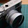 富士フィルムX100V用の純正互換丸形メタルフードを買った話。